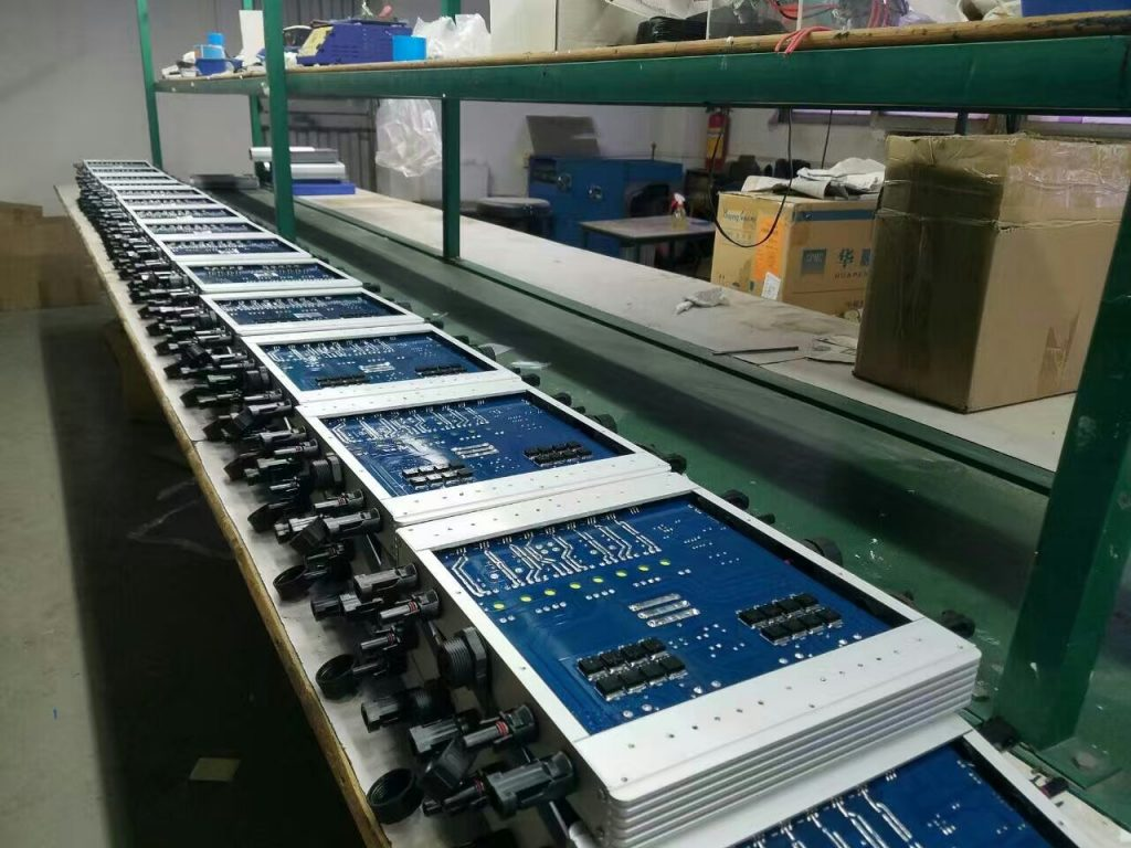 Maysun-1200W WVC micro inverters in production